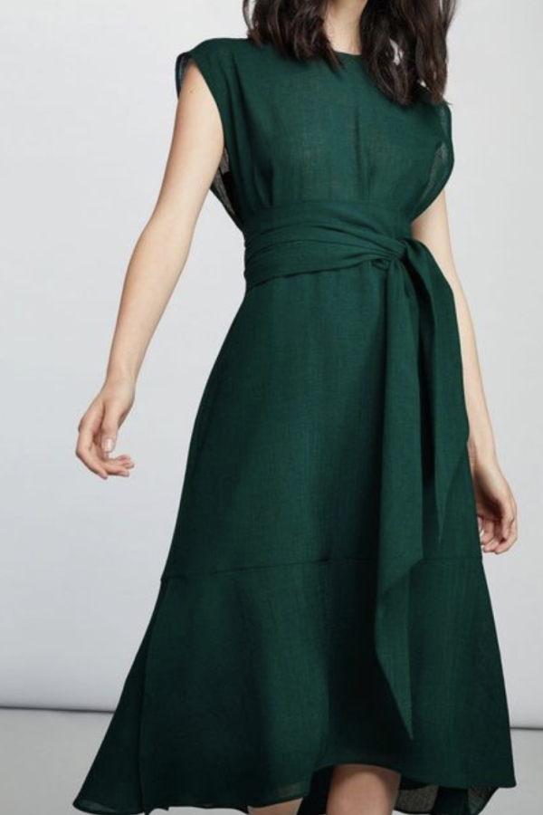 Cefinn Freya Midi Dress - Teal