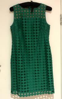 Ralph Lauren Circle Lace Sheath Dress  Preview Images
