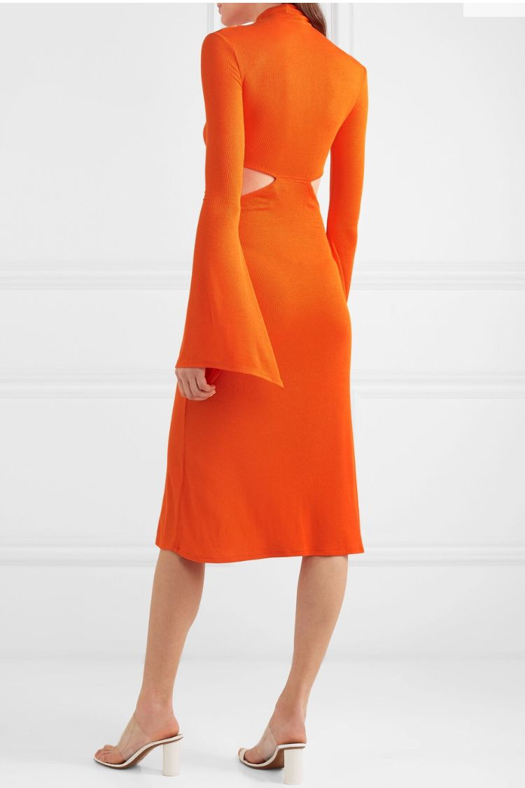Sid Neigum Twist Front Dress 2 Preview Images