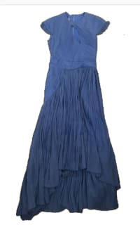 Preen by Thornton Bregazzi Milly Pleated Georgette Dress Preview Images