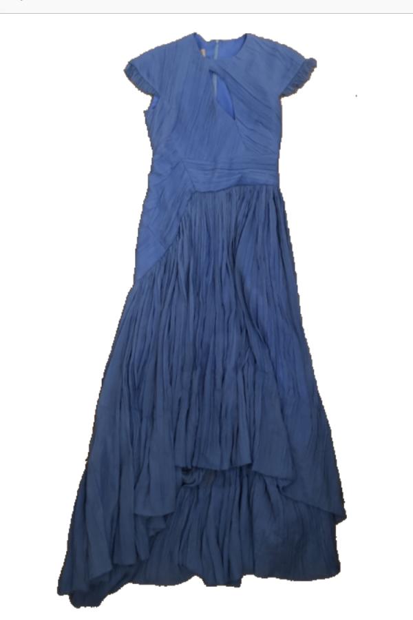 Preen by Thornton Bregazzi Milly Pleated Georgette Dress