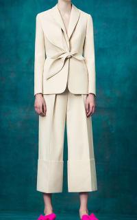 Delpozo Cream blazer 3 Preview Images