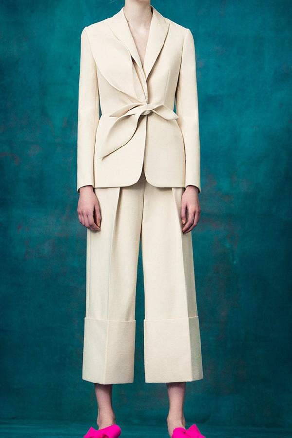 Delpozo Cream blazer 3