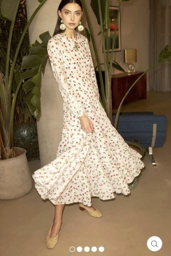 Image 2 of Rixo pip dress