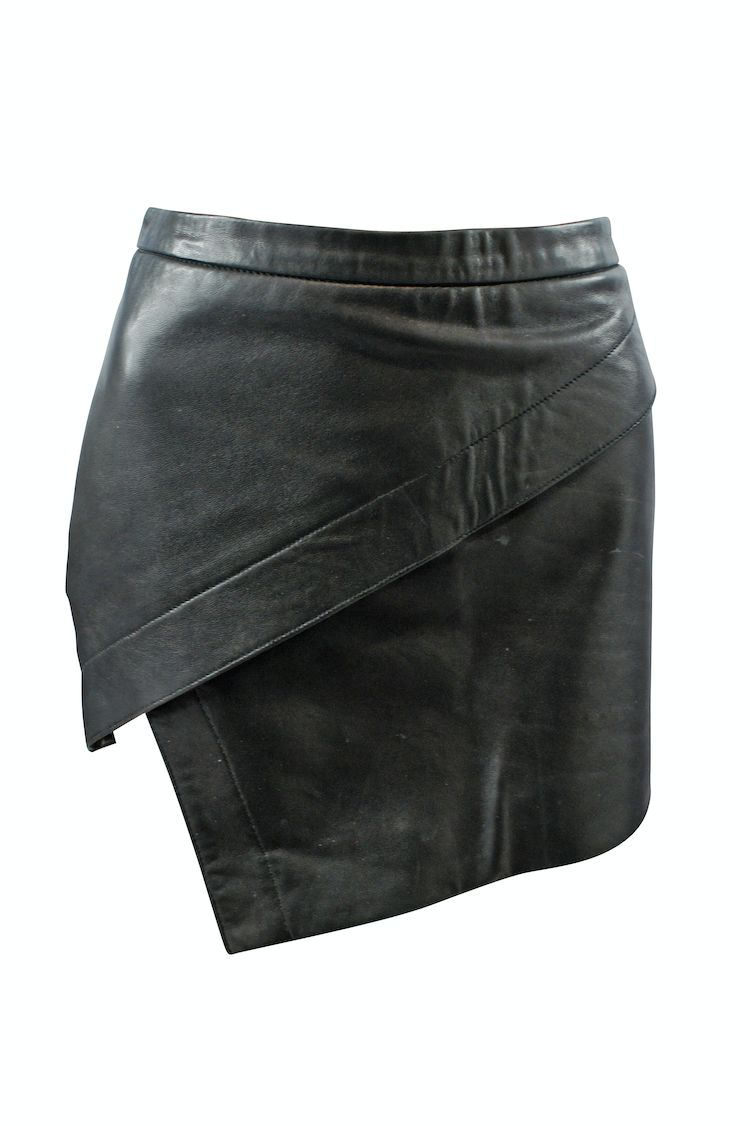 Michelle Mason Asymmetric Mini Skirt 3 Preview Images