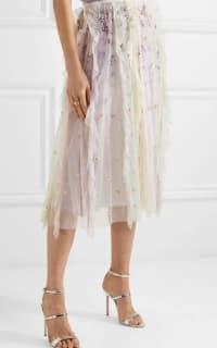 Needle & Thread Rainbow midi skirt 2 Preview Images