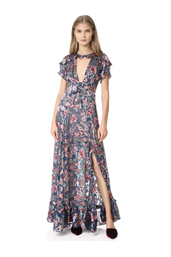 For Love and Lemons Flora Maxi Dress