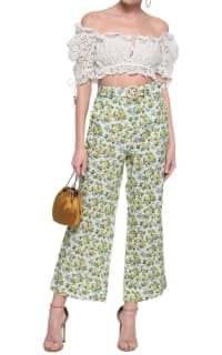 Zimmermann Floral Kick Flare Trouser 2 Preview Images