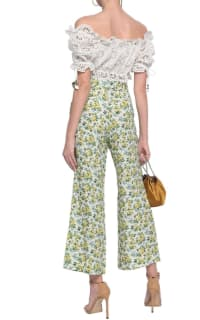 Zimmermann Floral Kick Flare Trouser 3 Preview Images