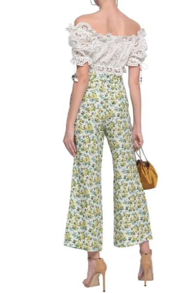 Zimmermann Floral Kick Flare Trouser 3