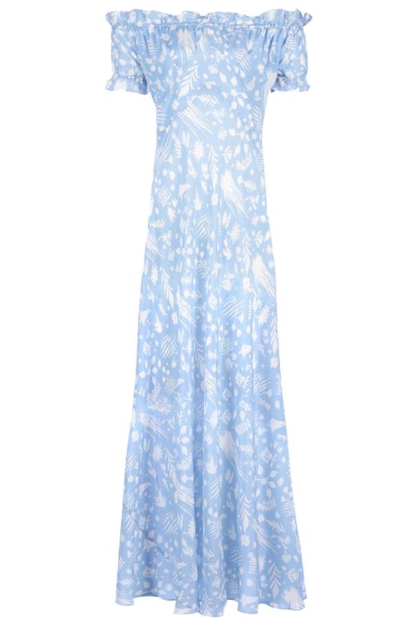 Image 1 of Rixo issy ruffle dress