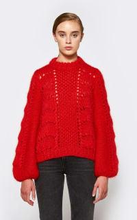 Ganni Julliard Mohair knit jumper 4 Preview Images