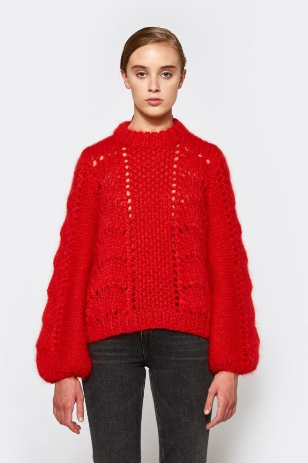 Ganni Julliard Mohair knit jumper 4