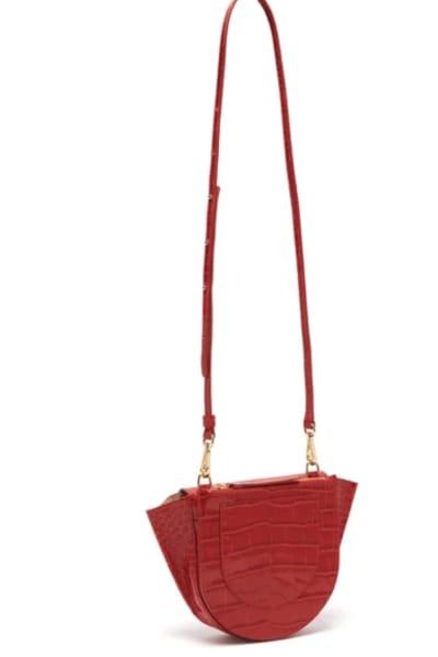 Wandler Hortensia mini leather cross 2