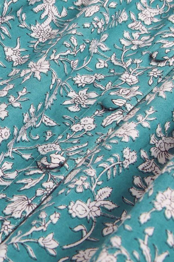Image 4 of Pink City Prints mint roshana dress