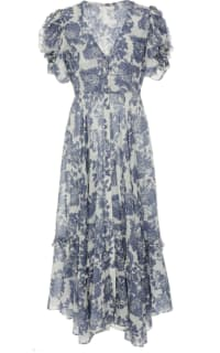 LOVESHACKFANCY - ANDIE FLORAL MIDI DRESS