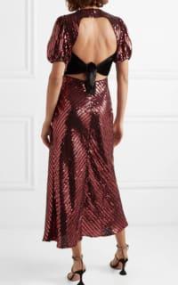 RIXO Laura Jackson Sequin Dress 3 Preview Images