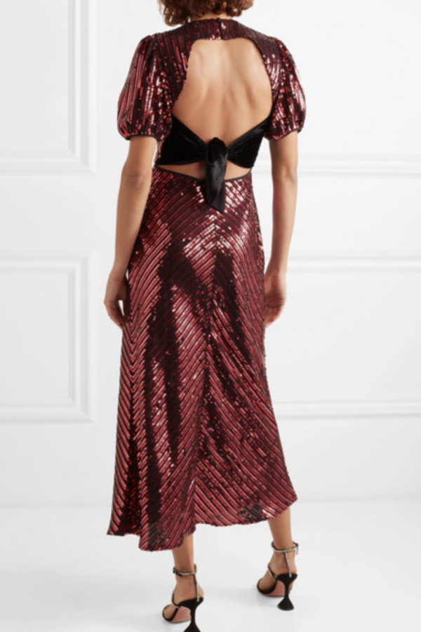 RIXO Laura Jackson Sequin Dress 3