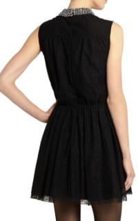 Saint Laurent Studded floral-lace mini dress 3 Preview Images