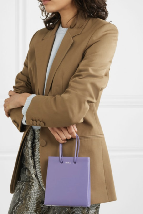 Medea Prima Short leather tote 1 Preview Images