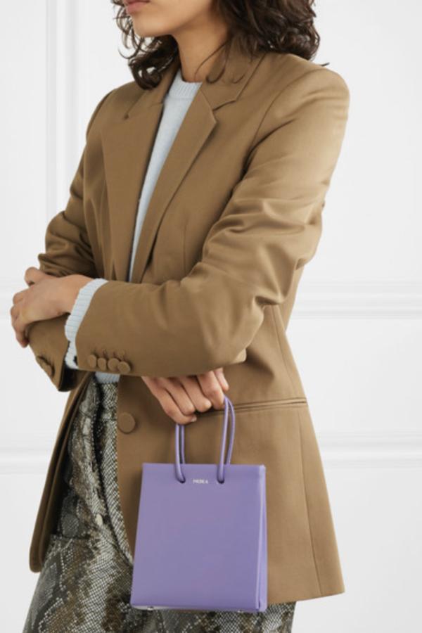 Medea Prima Short leather tote 2