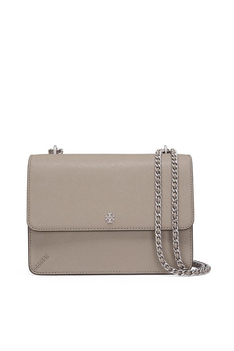 Tory Burch Robinson Convertible Leather Shoulder Bag 5 Preview Images