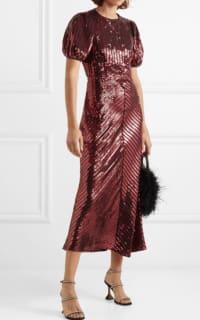 RIXO Laura Jackson Sequin Dress 2 Preview Images