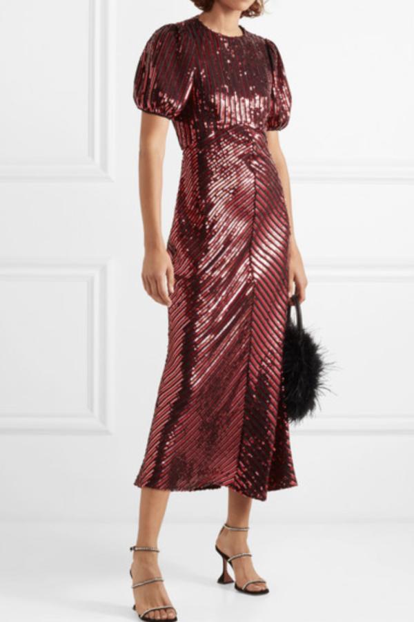 RIXO Laura Jackson Sequin Dress 2