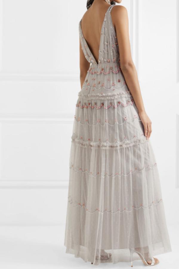 Needle & Thread Neve Gown 3