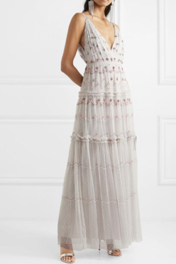 Needle & Thread Neve Gown 2