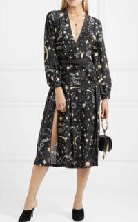 RIXO London Camellia silk crepe midi dress 2 Preview Images