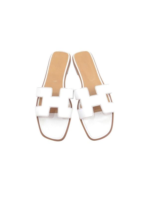 Image 1 of Hermès oran sandal