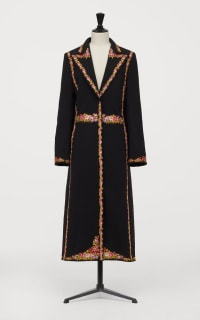 GIAMBATTISTA VALLI x H&M Long Jacket with Florals 4 Preview Images