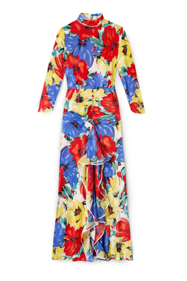 RIXO London The Lucy (Diana Floral)