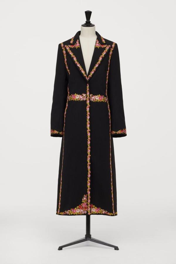GIAMBATTISTA VALLI x H&M Long Jacket with Florals 4