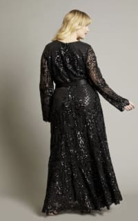 Anna Scholz Sequin Maxi Gown 2 Preview Images