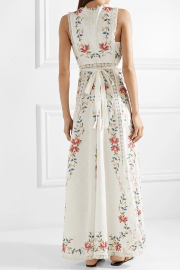 Zimmermann Laelia Cross Stitch Dress 3