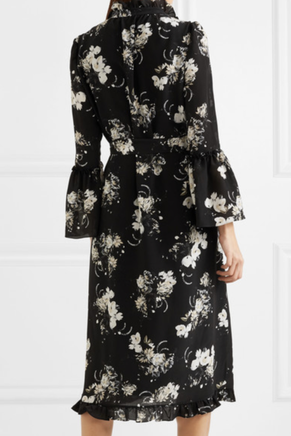 Erdem Siren floral midi dress 3