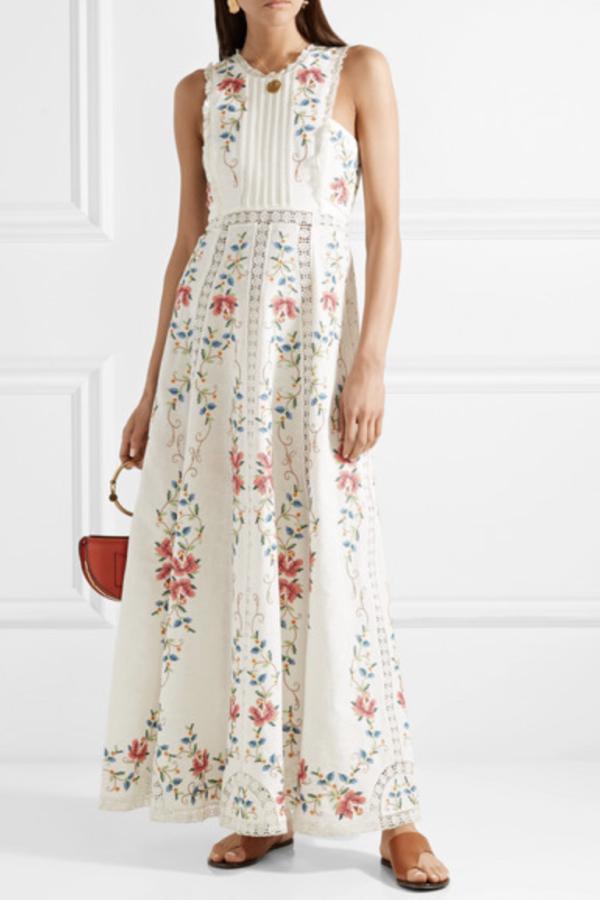 Zimmermann Laelia Cross Stitch Dress 2