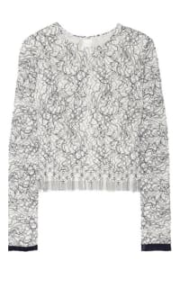 Adam Lippes Lace Top Preview Images