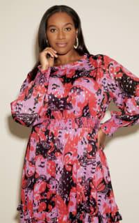Anna Scholz Pink Polka Boho Dress 6 Preview Images