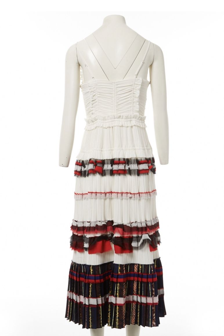 3.1 Phillip Lim Pleated Cream Dress 3 Preview Images