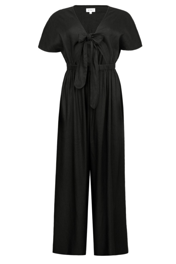 WRAY Tie Front jumpsuit 0 Preview Images