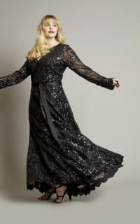 Anna Scholz Sequin Maxi Gown 3 Preview Images