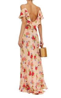 De La Vali Floral off shoulder dress 4 Preview Images