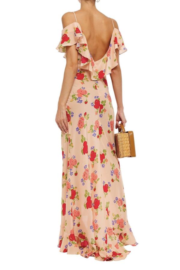 De La Vali Floral off shoulder dress 4
