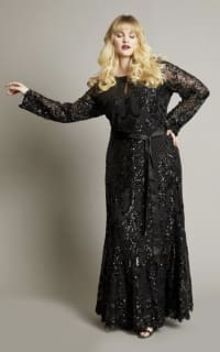 Anna Scholz Sequin Maxi Gown 4 Preview Images