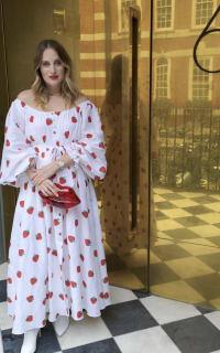 Gül Hürgel Strawberry Print Dress 3 Preview Images