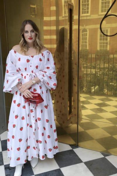 Gül Hürgel Strawberry Print Dress 3