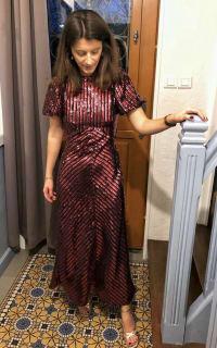 RIXO Laura Jackson Sequin Dress 4 Preview Images